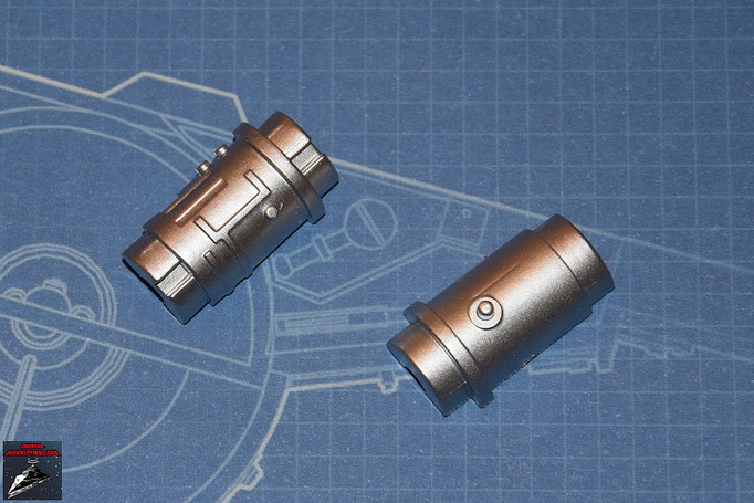 DeAgostini Bau deinen X-Wing Ausgabe 2 Vorderteil Lasergenerator (Kunststoff)