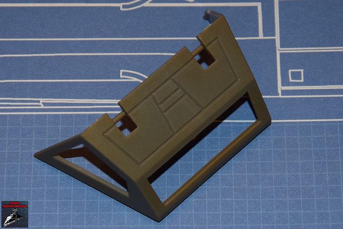 DeAgostini Bau deinen X-Wing Ausgabe 1 Cockpithaube hinten (Kunststoff)