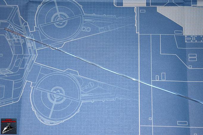 DeAgostini Bau deinen X-Wing Ausgabe 4 Lichtwellenleiter