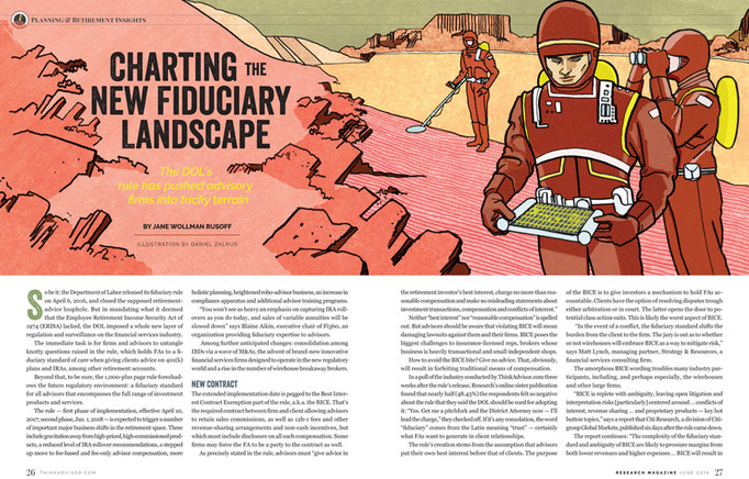 """Research Magazine - """"Charting the New Fiduciary Landscape"""""""