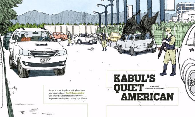 "Politico - ""Kabul's Quiet American"""