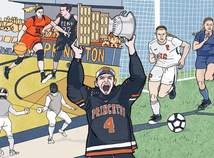 "Princeton Alumni Magazine - ""The Year in Sports"""