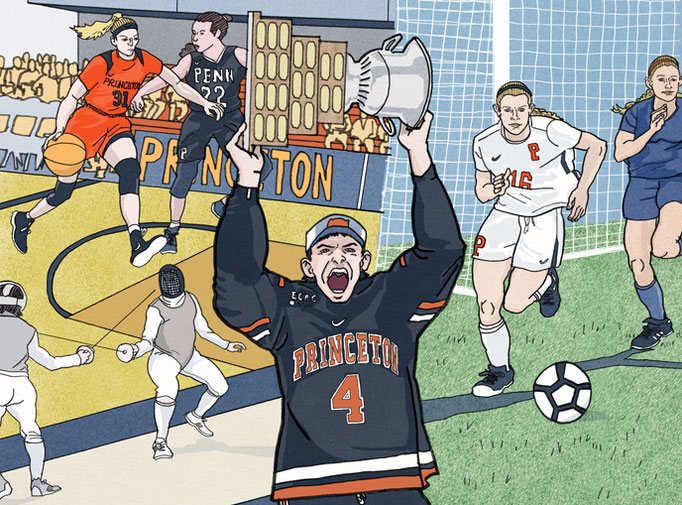 "Princeton Alumni Magazine - ""The Year in Sports"""
