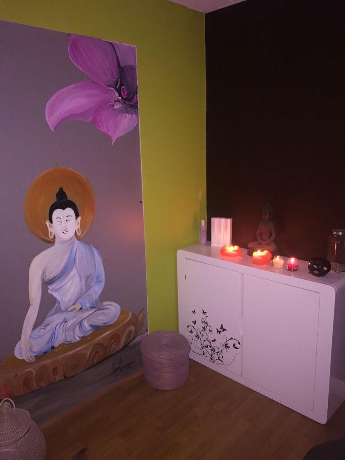Relaxation et zénitude sont les mots d'ordres de notre espace bien-être ..