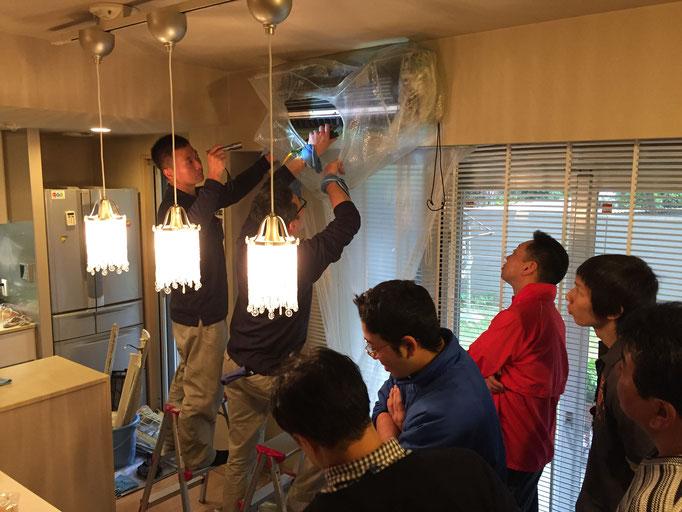 エコ洗剤再生ハウスクリーニングの勉強会