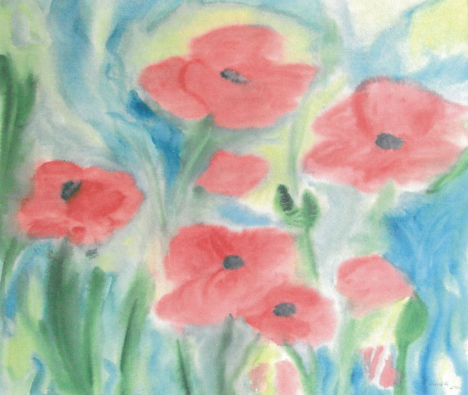 """""""Blumentraum"""" Größe: 80 x 60 cm"""