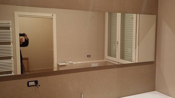 Illuminazione strip led specchio a cesena allarmi cancelli