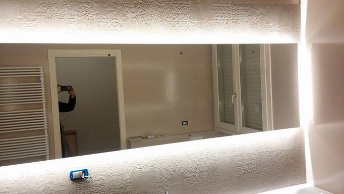 Illuminazione Strip Led Specchio a Cesena - Allarmi - Cancelli ...