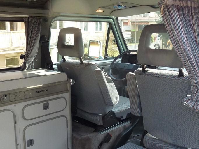 Pictures Interior - VW Bus T3-Atlantic Camper