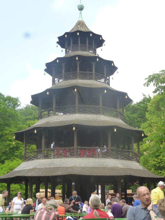 Chinesischen Turm