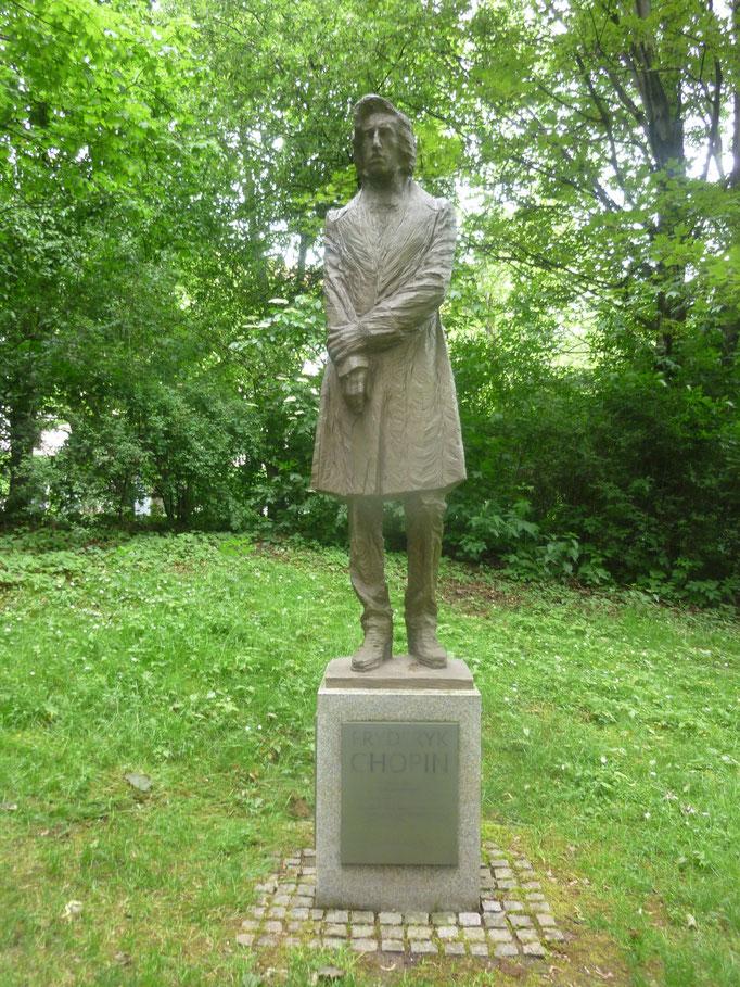 Chopin im Finanzgarten