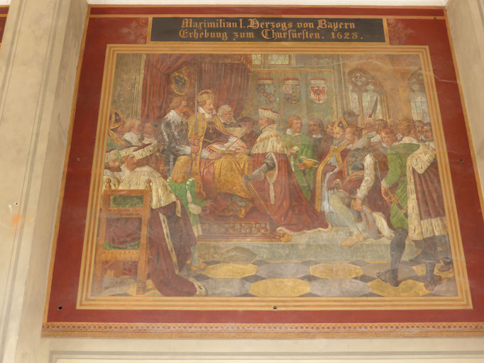 Fresken im Hofgarten
