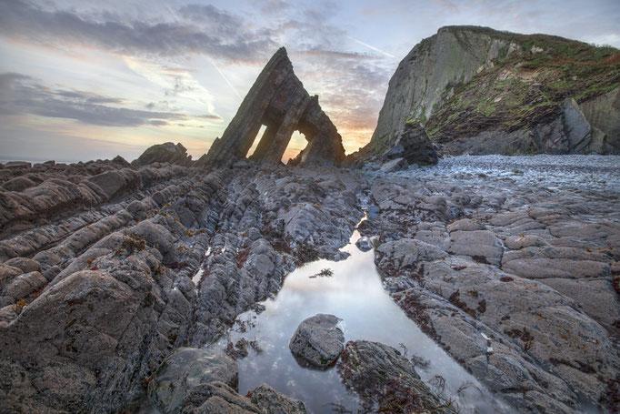 Blackchurchrock, England