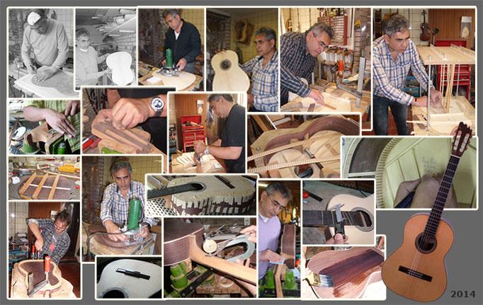 Frans Paul | Workshop bouw van klassieke gitaar