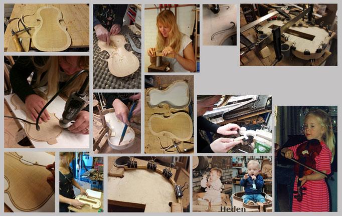 Mandy van Oosterhout | Workshop vioolbouw