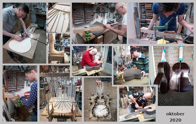Sander, Sandor en Jim | Workshop bouw van klassieke gitaar