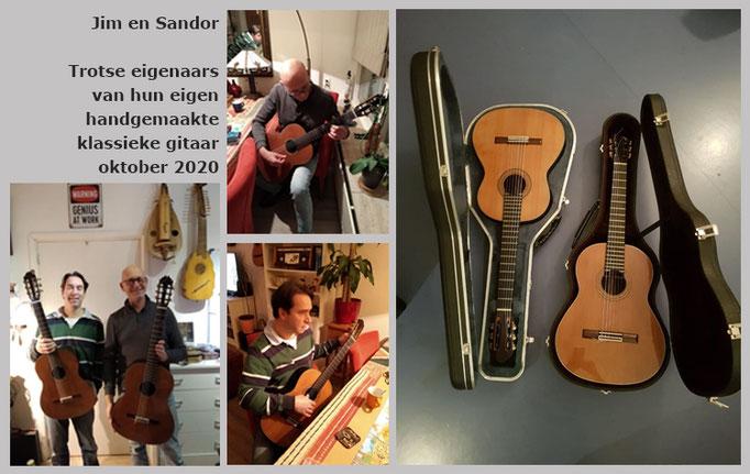 Jim en Sandor | Workshop bouw van klassieke gitaar