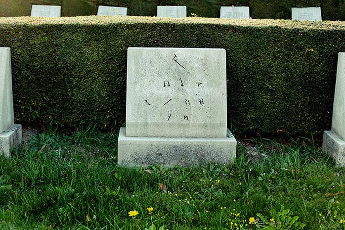 могила украинского солдата сражавшегося под знаменем СССР.