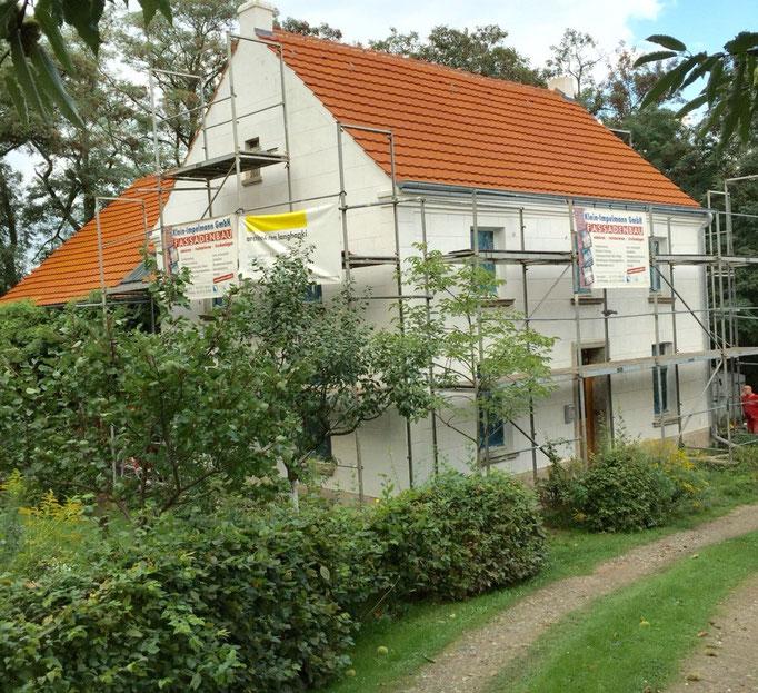 Müllerhaus nach der Restaurierung innen