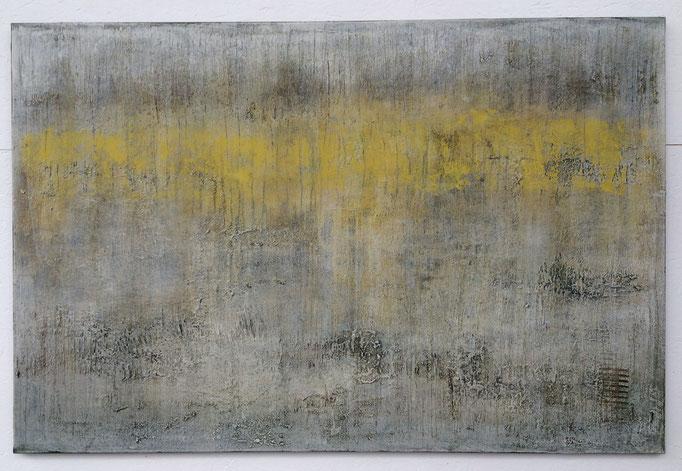 yellow on grey - 120 x 80