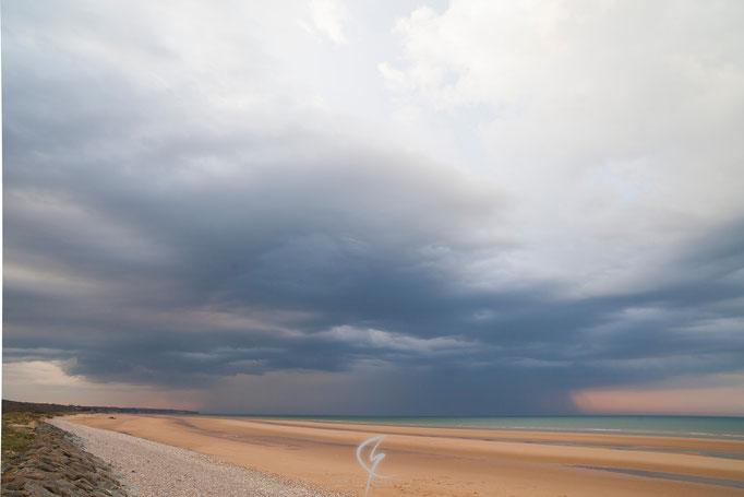 Cellule orageuse isolée qui aura donné quelques impacts de foudre sur le département de la Manche (50).