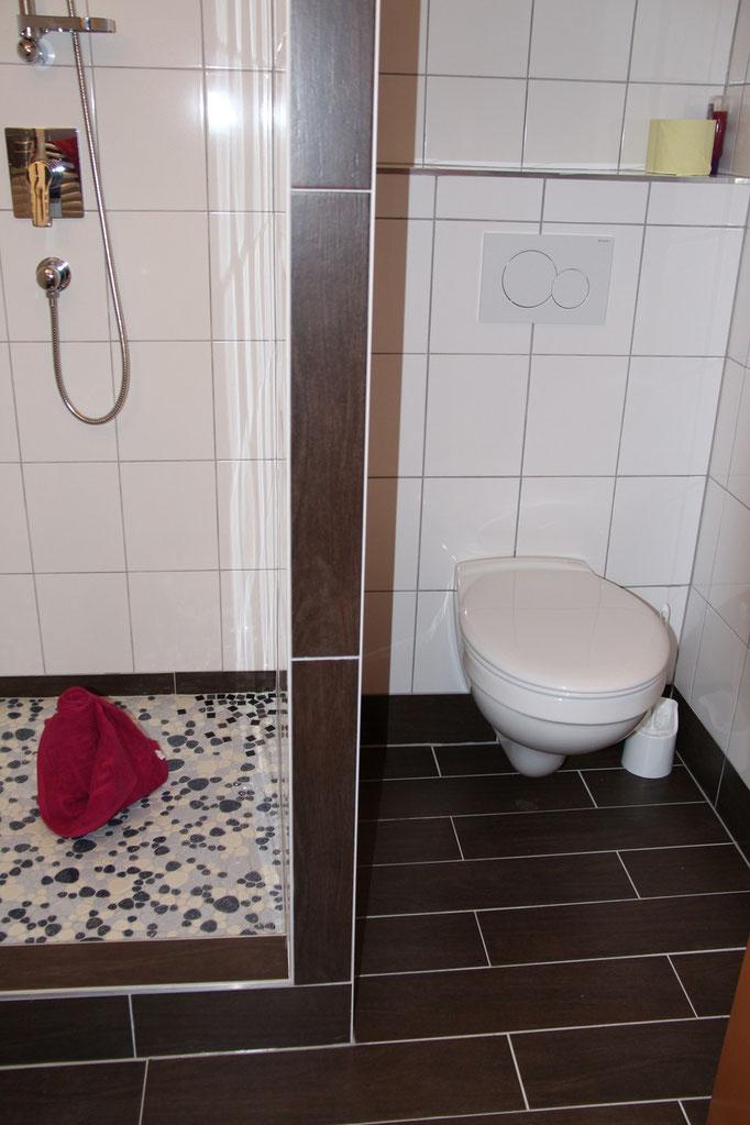Badezimmer Ferienhaus Peterlhaus