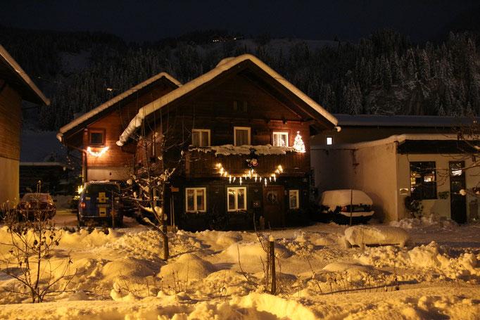 Ferienhaus Peterlhaus bei Nacht
