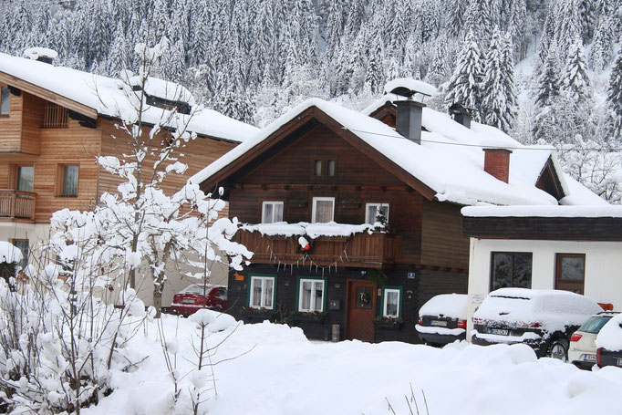 Peterlhaus im Winter