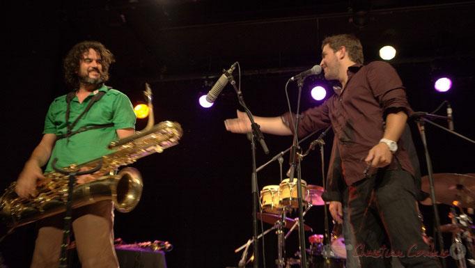 Grat Martinez, Damien Bachère; Manguidem Taf Taf Trio, Festival JAZZ360 2012, Cénac. 09/06/2012