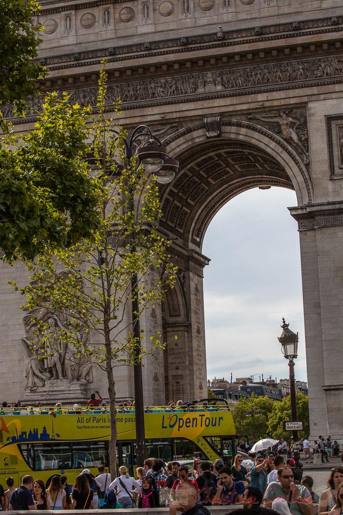 Arc de triomphe, Place Charles de Gaulle, Paris 8ème arrondissement