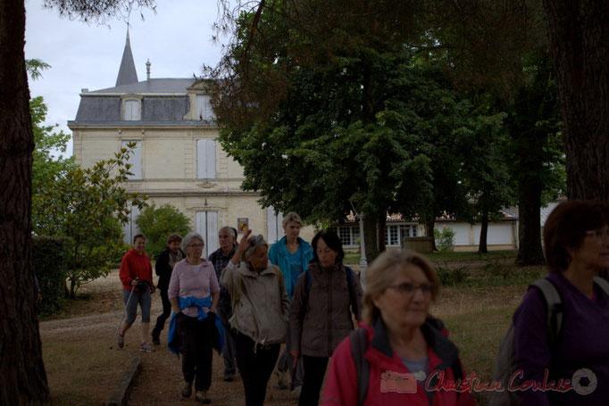 Festival JAZZ360 2015, randonnée pédestre, Château Courtade, Camblanes-et-Meynac