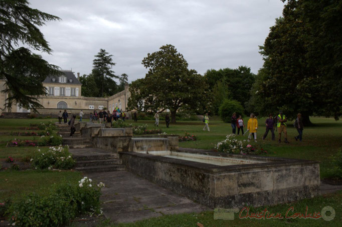 Festival JAZZ360 2015, randonnée pédestre, Château Duplessy, Cénac