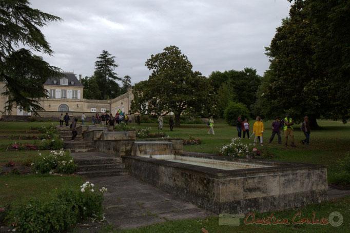 Festival JAZZ360 2015, randonnée pédestre, Château Duplessy, Cénac. 14/06/2015