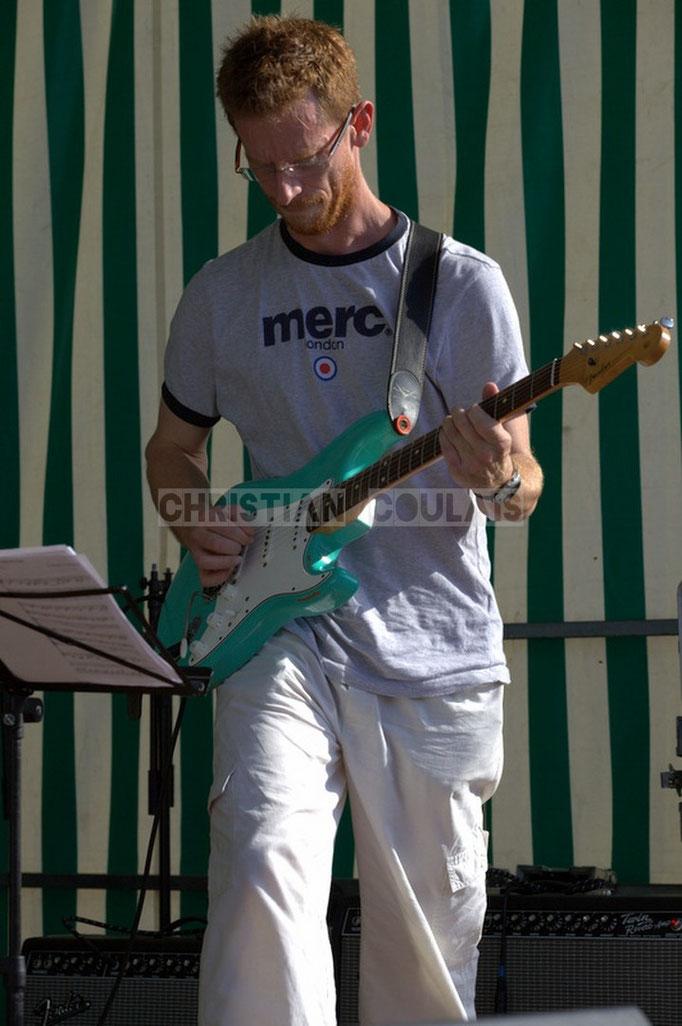 Festival JAZZ360 2014, Christophe Maroye; EBop Quartet, Cénac. 07/06/2014