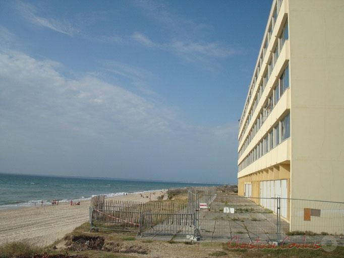 Immeuble Le Signal face à l'océan, Soulac-sur-Mer Photographie © Christian Coulais