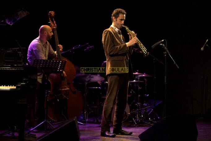Festival JAZZ360 2014, Mauro Gargano, Christophe Laborde; Christophe Laborde Quartet. Cénac, 06/06/2014