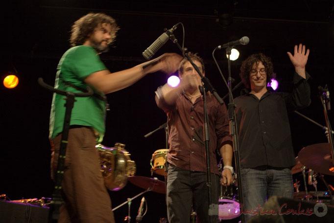 Grat Martinez, Damien Bachère, David Muris; Manguidem Taf Taf Trio, Festival JAZZ360 2012, Cénac. 09/06/2012