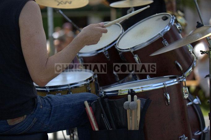 Thierry Tassaing; Mil&Zim Jazz, Festival JAZZ360 2014, Quinsac. 08/06/2014