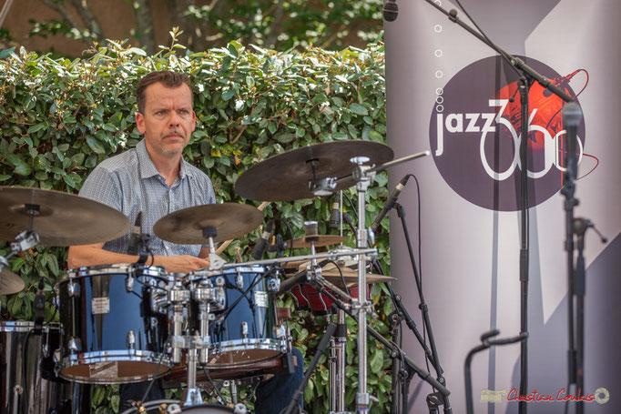 Laurent Meyer, Mystèretrio Quartet, Festival JAZZ360, Latresne. 11/06/2017