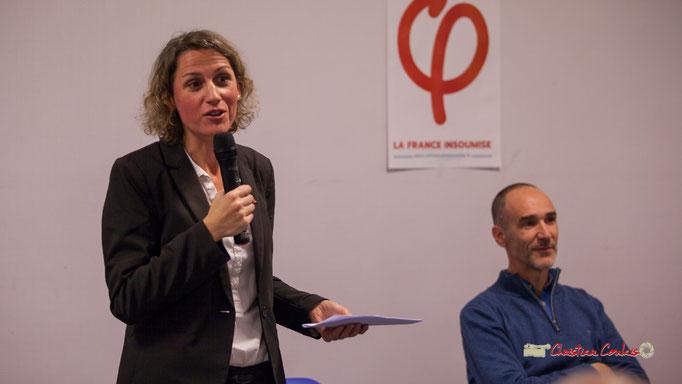 6/6 Marie Duret-Pujol, candidate aux élections européennes 2019. Comité d'appui la France insoumise aux élections européennes, Bordeaux. 22/11/2018