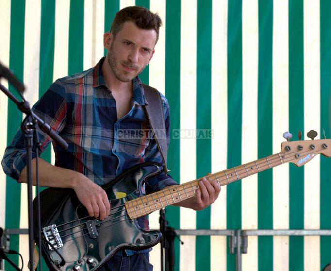 Festival JAZZ360 2014, Benoît Lugué; EBop Quartet, Cénac. 07/06/2014