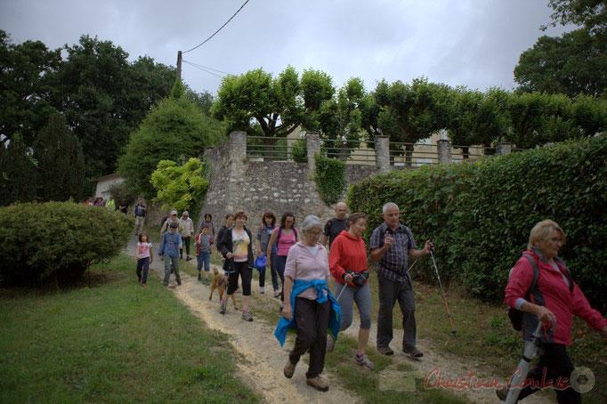 Festival JAZZ360 2015, randonnée pédestre, chemin de cluzeau, Camblanes-et-Meynac. 14/06/2015
