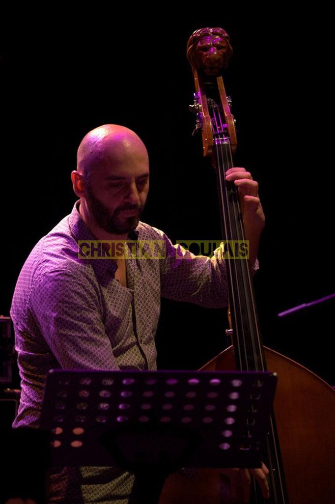 Festival JAZZ360 2014, Mauro Gargano; Christophe Laborde Quartet feat Giovanni Mirabassi. Cénac, 06/06/2014