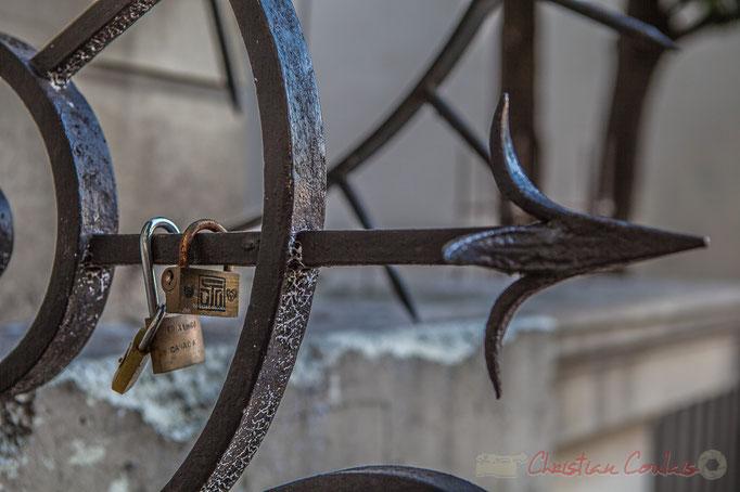 Cadenas d'amour (Canada), Place Emile Goudeau, Monmartre, Paris 18ème arrondissement
