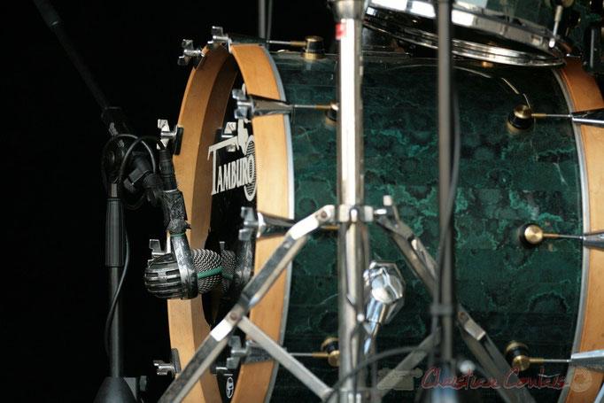 """Grosse caisse""; Florinda Piticchio & Balarm Quartet, Festival JAZZ360 2011, Cénac. 05/06/2011"