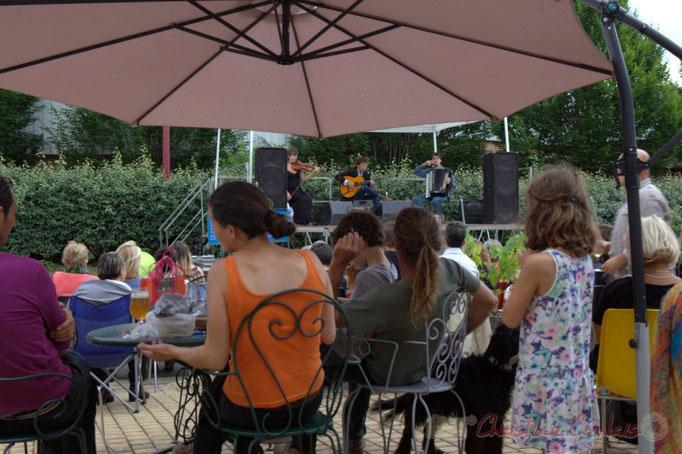 Festival JAZZ360 2015, Züm Trio, gare de Latresne, 14/06/2015