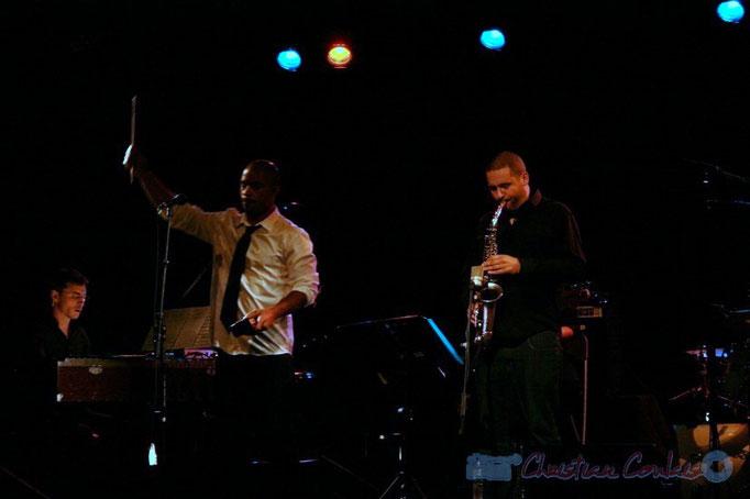 Xavier Duprat, Marco Codjia, Denis Guivarc'h; Fada. Festival JAZZ 2010, Cénac. 14/05/2010