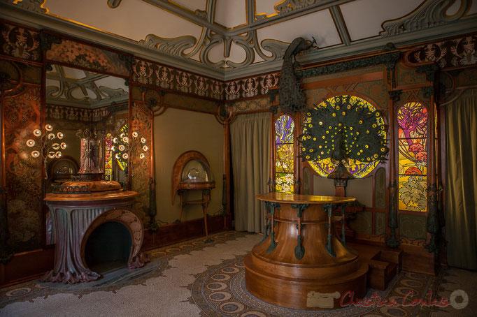 Boutique du bijoutier Georges Fouquet, Alphonse Mucha, Musée Carnavalet