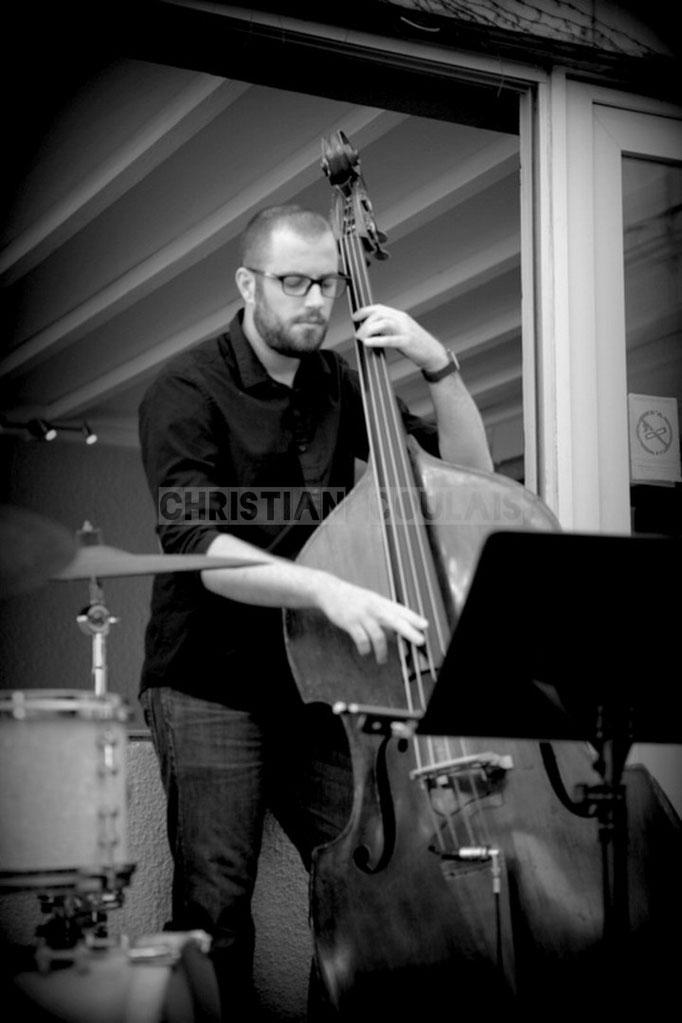 Aurélien Gody; Soundscape Trio, Festival JAZZ360 2014, Cénac. 07/06/2014