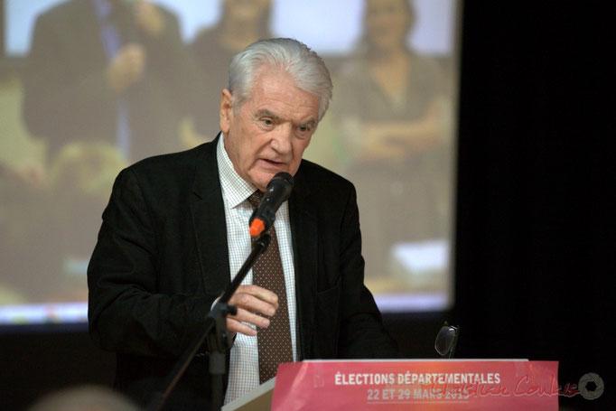 Philippe Madrelle, Président du Conseil général de la Gironde